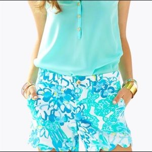Lilly Pulitzer Buttercup shorts - In A Pinch